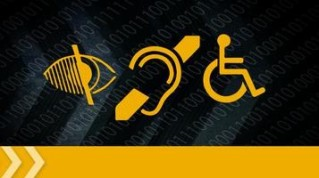 Icons signifying disabilities.